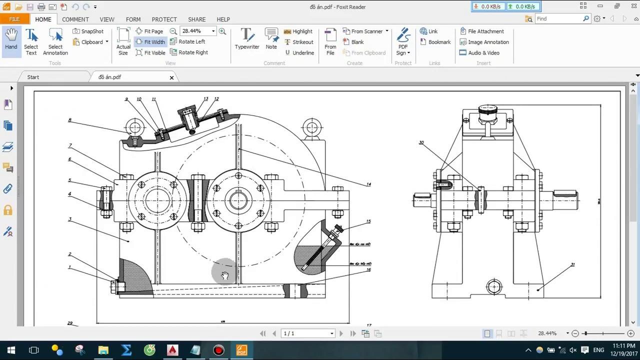 Hướng dẫn xuất file cad sang file pdf  Cad 2015