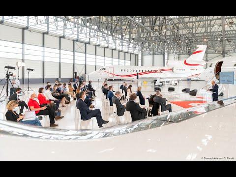 Remise de prix Paris Region Challenge AI for Industry - Dassault Aviation