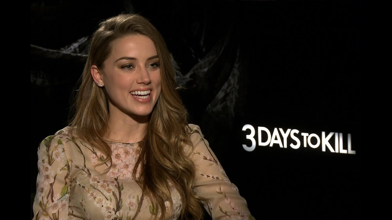 Amber heard loves her characters sexuality in 3 days to kill amber heard loves her characters sexuality in 3 days to kill youtube sciox Image collections
