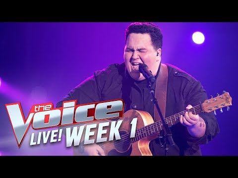 Judah Kelly - 'Purple Rain' | The Voice Australia 2017