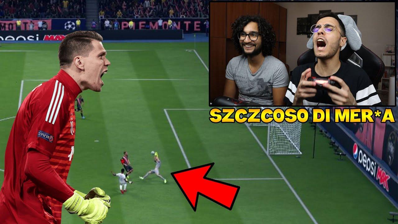 SZCZCOSO DI MERD*A!!! LE PRENDE TUTTEEE!!! Juventus-Olympique Lione [Pronostico Fifa20]