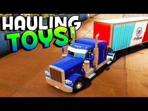 American Truck Simulator - WE GOT TOYS, BOYS! - American Truck Simulator Gameplay & Highlights