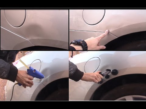 25$  Car Dent removal Experiment