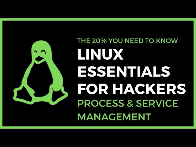 Linux Essentials For Hackers - #16 - Service And Process Management (HTOP & systemctl)