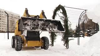Заинск выдержал экзамен снегопадом