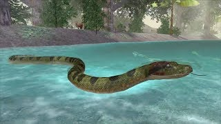 Anaconda Snake Simulator 3D | Ultimate Jungle Simulator By Gluten free games
