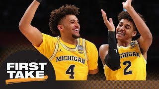 First Take reacts to Michigan beating Loyola-Chicago in men's Final Four | First Take | ESPN