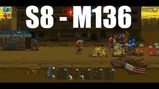 Dead Ahead Zombie Warfare Stage 8 - Mission 136, 3Star