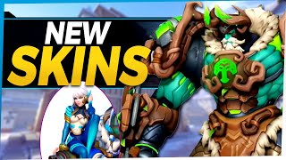 Overwatch NEW Legendary Skins - Dva and Reinhardt All Star Overwatch Skins