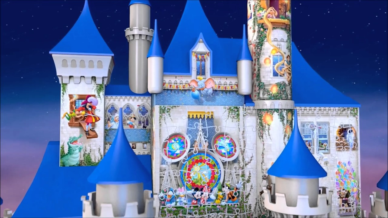 Smyths Toys - Disney Castle 3D Puzzle