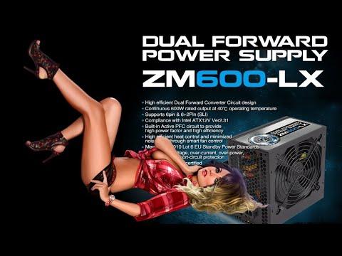 ZALMAN ZM600-LX! Краткий обзор!