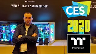 [Cowcot TV] CES 2020 : Visite du stand Thermaltake
