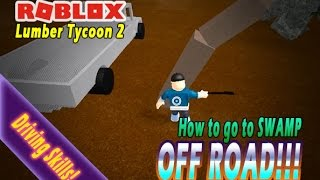 HOW TO GET GOLD WOOD & ZOMBIE WOOD WITH TRUCK - OFF ROAD!!! - ROBLOX - LUMBER TYCOON 2