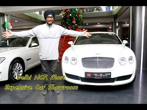 Delhi NCR's most Expensive Car Showroom !!!