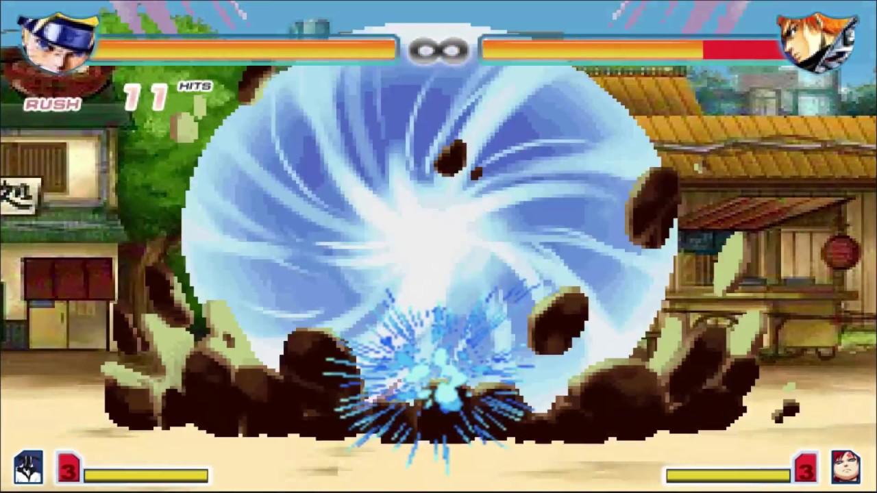 Bleach Vs Naruto 2.4 – All Ultimate Attacks