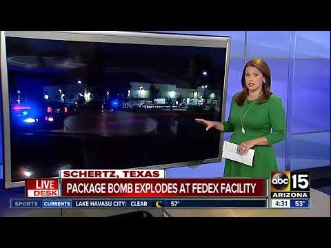 BREAKING: Bomb explodes at San Antonio FedEx