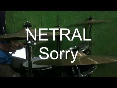 Netral Sorry Drum Cover by Jacka Ariana