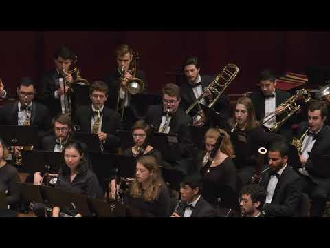 UMich Symphony Band - Ron Nelson - Rocky Point Holiday (1966)