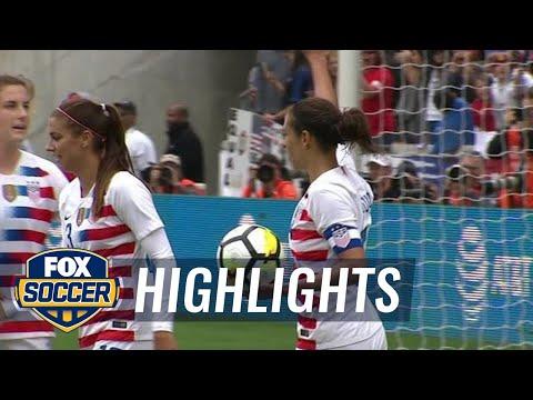 United States vs. Mexico | 2018 Women\'s International Friendly Highlights