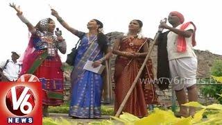 History of Golconda Bonalu - Mallanna, Mangli, Ramulamma - V6 Jajjanakare Janaare