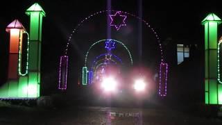 Download Pesona kampung tenda  di malam hari menyambut Natal dan Tahun Baru 2020