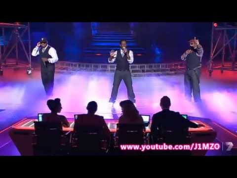 The Top 3 & Boyz II Men End Of The Road  The X Factor Grand Final Decider 2012  Australia