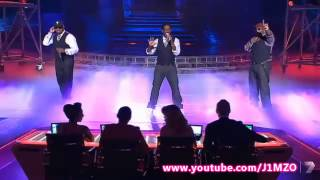 The Top 3 & Boyz II Men End Of The Road - The X Factor Grand Final Decider 2012 - Australia