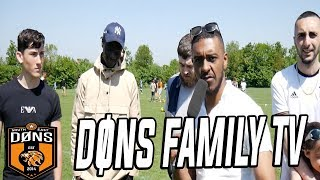 DONS FAMILY TV: 'Its Just Sunday League'
