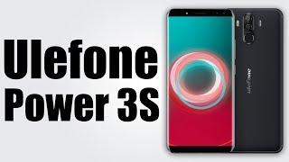 Ревю и Unboxing на Ulefone Power 3S Black