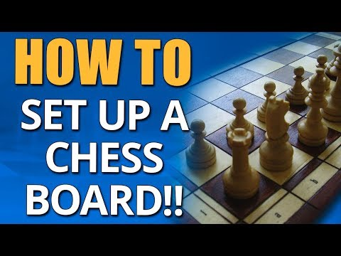 How To Set Up A Chess Board 🎓 Beginner Chess Lessons - GM Damian Lemos