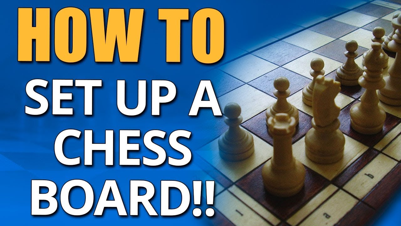 How To Set Up A Chess Board Beginner Chess Lessons Gm Damian Lemos Youtube