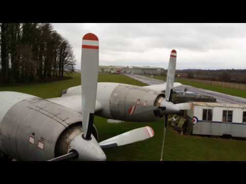 Inside XM496: the world's only remaining RAF Bristol britannia