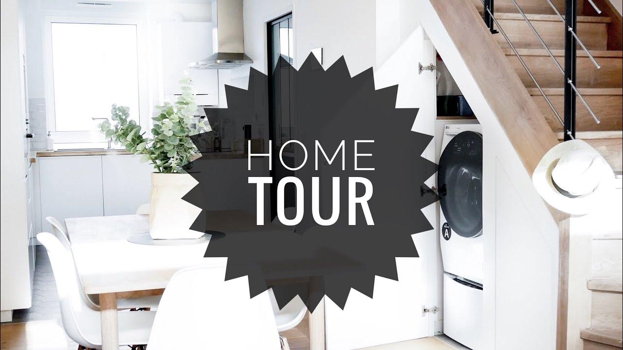 HOME TOUR │AVANT / APRES TRAVAUX ⚒ - YouTube