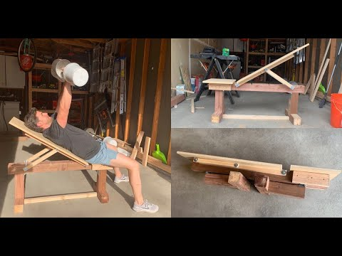 Download DIY Adjustable Weight Bench | Step by Step Tutorial