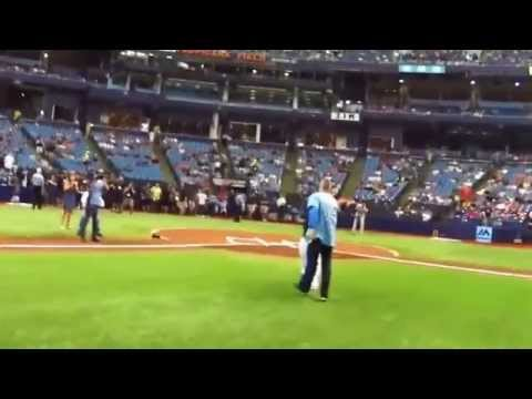 Anthony Field's First Pitch for Tampa Bay Rays vs Orioles