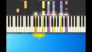 Big bad John   Dean Jimmy [Piano tutorial by Synthesia]