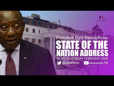 LIVE from Parliament: President Ramaphosa delivers SONA