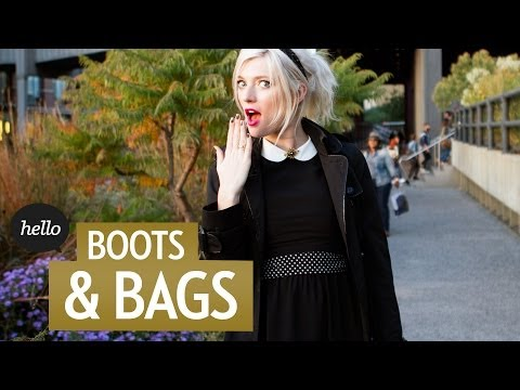 Hot Bags & Boots for the Cold Season | Hello Street Style