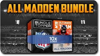 mut 15 all madden pack bundle opening 100k player item topper