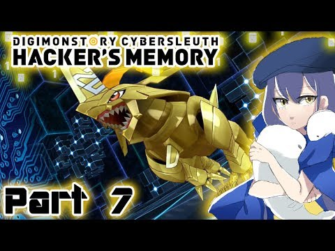 Let's Play Digimon Story: Cyber Sleuth - Hacker's Memory - Part 7