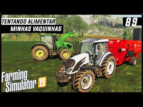 TENTANDO ALIMENTAR MINHAS VACAS! | FARMING SIMULATOR 19 #89 [PT-BR] thumbnail