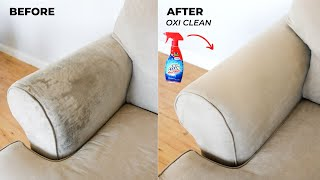 How To Clean Your Sofa / Couch With Oxi Clean