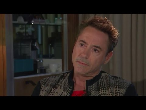 Robert Downey Jr. storms out of