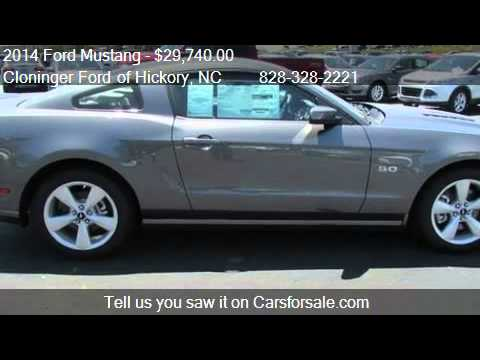 Cloninger Ford Hickory Nc >> 2014 Ford Mustang GT - for sale in Hickory, NC 28602 - YouTube