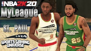 NBA 2K20 MyLeague (Expansion) Featuring the St. Paul Sports Gaming Universe - EP1 (NBA 2K20 PS4)