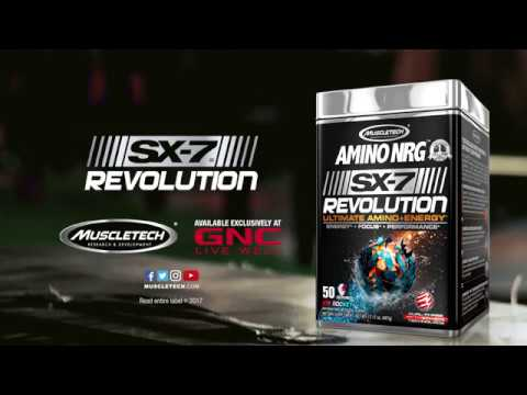 New Amino NRG™ SX-7® Revolution
