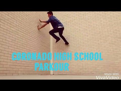 Ricky Ruiz Coronado High School Parkour: El Paso Parkour