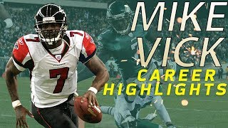 Michael Vicks UNREAL Career Highlights  NFL Legends Highlights