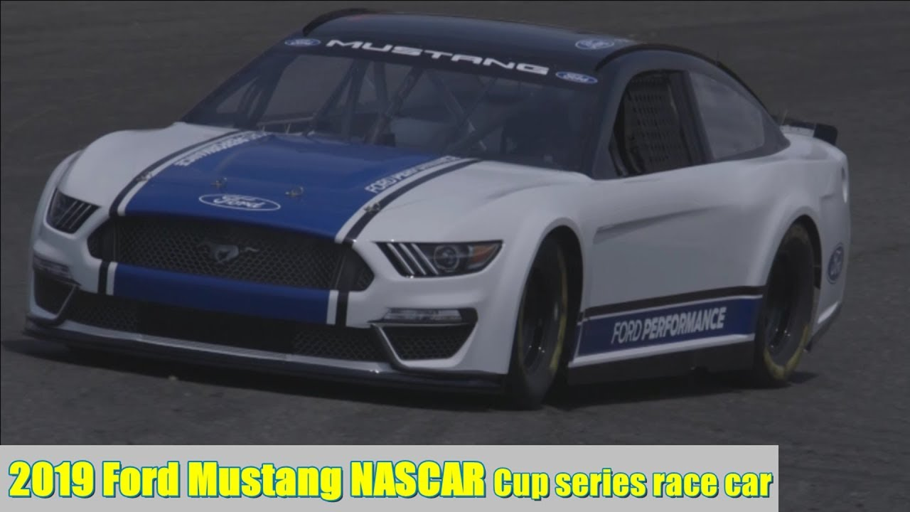 2019 ford mustang nascar cup series race car