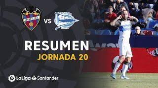 Resumen de Levante UD vs Deportivo Alavés (0-1)